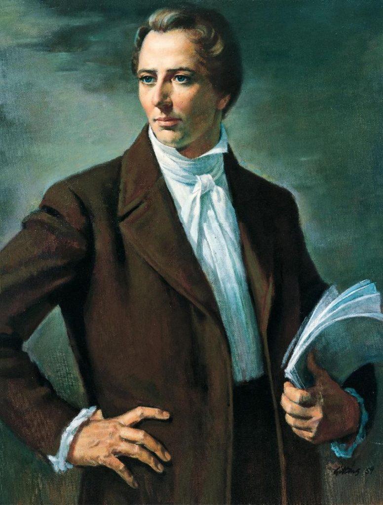 Maľba mormónskeho proroka Josepha Smitha