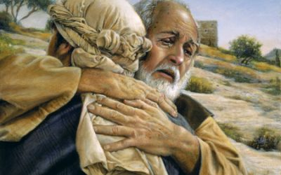 Pamätajte, Nebeský Otec a Kristus pribehnú aby vás uvítali
