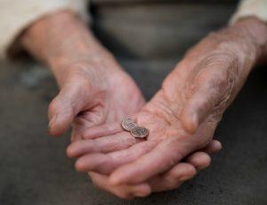 Vdova s dvoma mincami