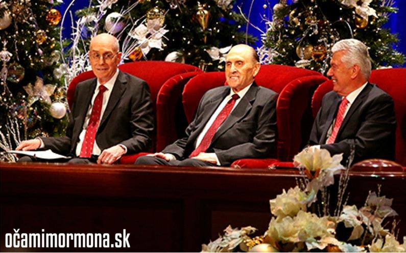 Vianočné posolstvo prvého predsedníctva