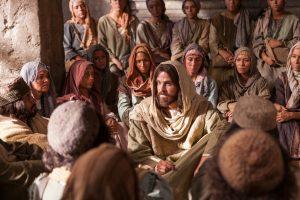 Ježiš pri vysvetľovaní
