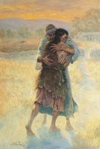 Objatie otca a syna