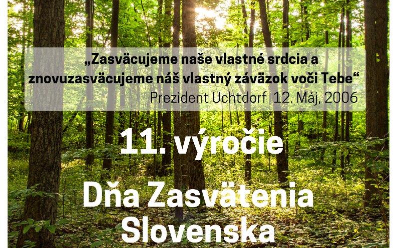 Oslavy zasvätenia Slovenska ku kázaniu evanjelia – 11.výročie