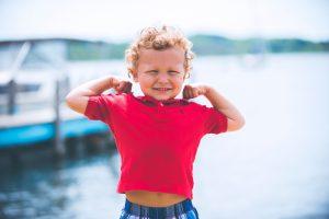Chlapec - silák