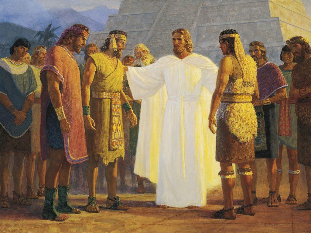Kristus povoláva nefitských apoštolov