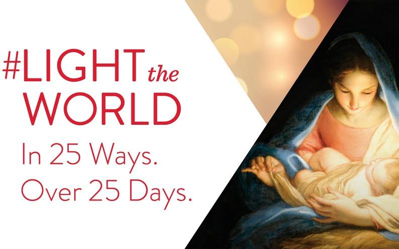 Buďte svetlom sveta aj tento rok – 24 spôsobmi. Počas 24 dní.