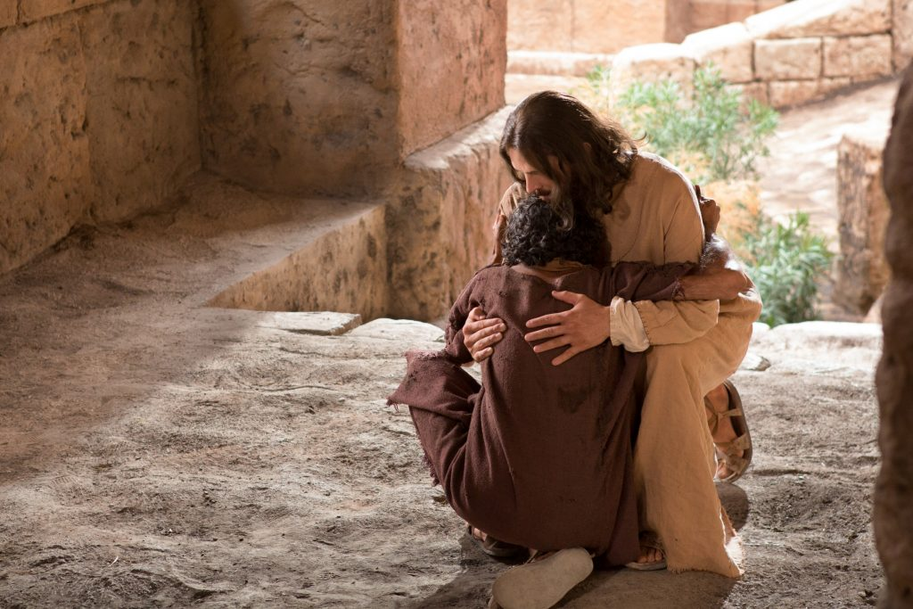 Ježiš a slepeec