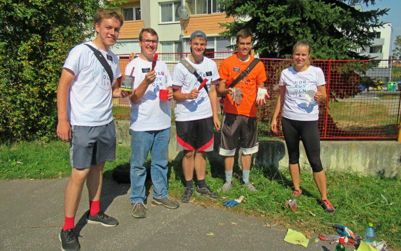 Dobrovoľníci v Nitre – týžďeň dobrovoľníctva 2018